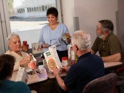 Nutrition education for cardiac rehab