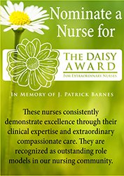 Nominate a Nurse for The DAISY Award