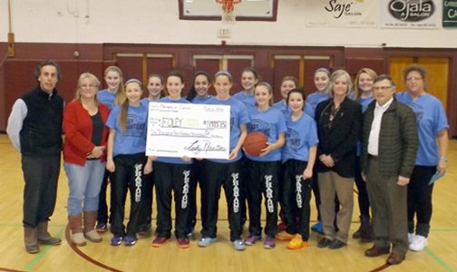 FCC Lady Phantoms donation