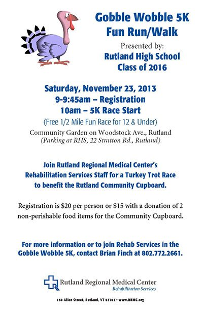 Gobble Wobble 5K Fun Run/Walk