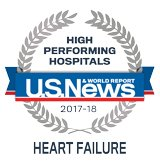 US News Heart Failure Award Logo