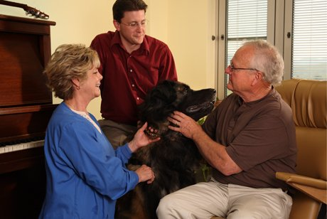 Pet assisted therapy in psych