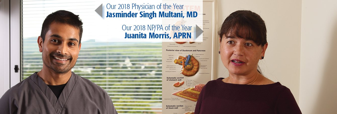 2018 Physician and Nurse Practitioner of the Year