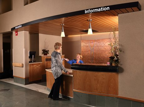 Volunteer at Info Desk