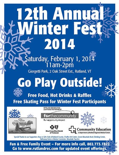 12th Annual Winter Fest 2014