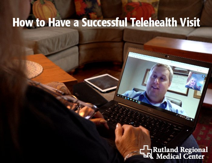 woman having a telehealth visit with her physician