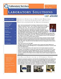 Laboratory Solutions Newsletter, Volume 1, Issue 2