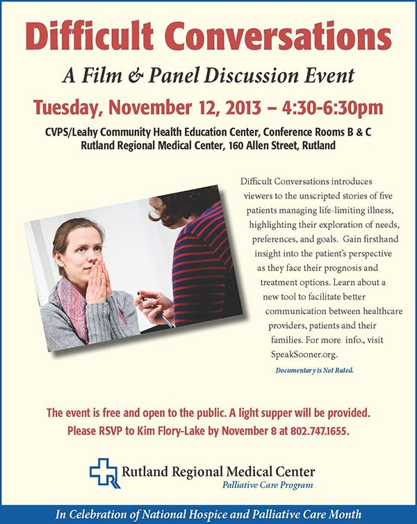 Difficult Conversations: A Film & Panel Discussion Event