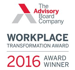 workplace transformation award logo