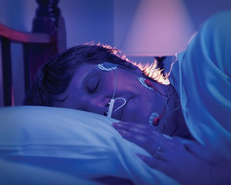 Sleeping with electrodes