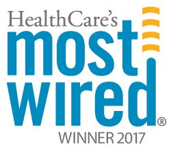 Healthcare's Most Wired award logo