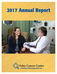 2017 Foley Cancer Center Annual Report Cover